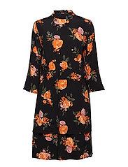 Kendall print dress - ROSE GARDEN