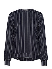 Keshia sweat - NAVY/WHITE STRIPE