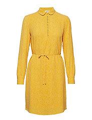 Magnolia print dress - SCATTER DREAM HONEY