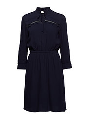 Noa dress - NAVY SKY