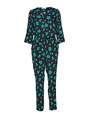 Mandy print jumpsuit - FLOWER FAIRYTALE