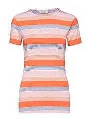 Owl stripe t-shirt - MULTI STRIPE