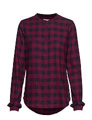 Sedina shirt - RED CHECK