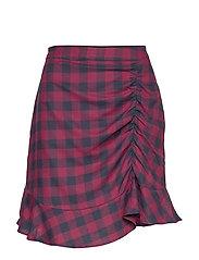 Sedina skirt - RED CHECK