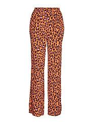Robbie print pants - COLOURFUL LEO
