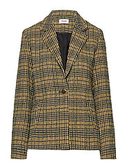 Suko blazer - YELLOW CHECK