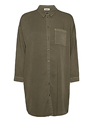 Evelyn shirt - LIGHT KHAKI