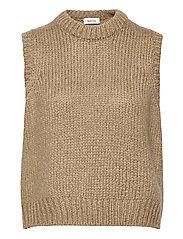 Valentia vest - CAMEL