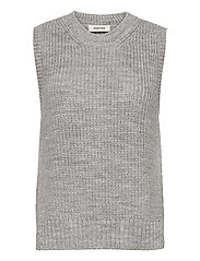 Timme vest - LIGHT GREY MELANGE