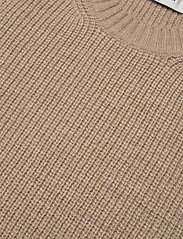 Modström - Trey vest - knitted vests - powder sand - 4