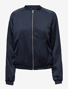 Skylar jacket - kurtki bomber - navy sky