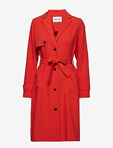 Ramona jacket - FIRE RED