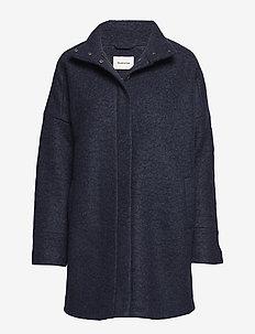 Bonnie coat - villakangastakit - navy sky