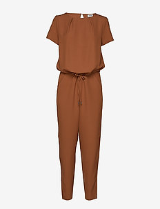 Campell jumpsuit - CHESTNUT
