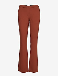 Tanny flare pants - CHESTNUT