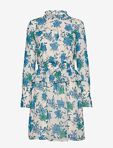 Noho print dress - MORNING GLORY
