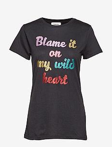 Mona t-shirt - BLACK