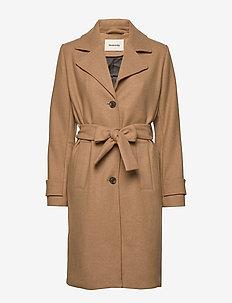 Pilou coat - CAMEL