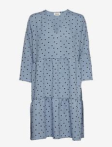 Richie print dress - MOON POOL DOT