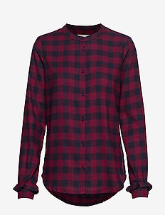 Sedina shirt - RED CHECK