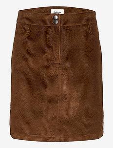 Stefanie skirt - korta kjolar - pecan