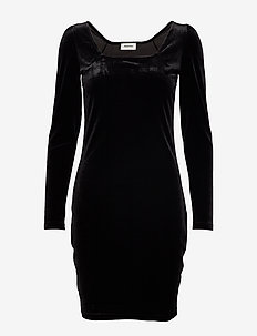 Vinci dress - stramme kjoler - black
