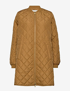 York jacket - steppjacken - warm camel