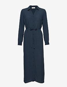 Alissa dress - NAVY SKY