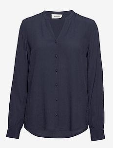 Alissa shirt - NAVY SKY