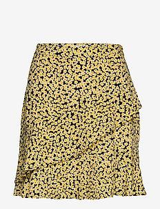 Berta print skirt - korte nederdele - desert flower