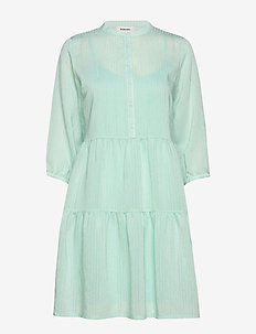 Cathrine dress - shirt dresses - jade green