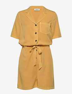 Colin playsuit - jumpsuits - misty yellow