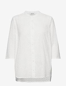 Christin shirt - lyhythihaiset paidat - off white