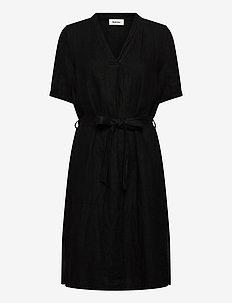 Cosmo dress - omslagskjoler - black