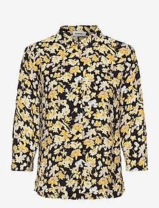 Casey print shirt - chemises à manches longues - sunshine bloom