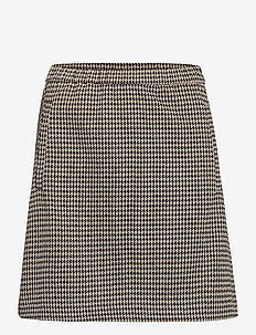 Fawn short check skirt - spódnice mini - houndstooth check