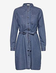 Fever dress - shirt dresses - light blue wash