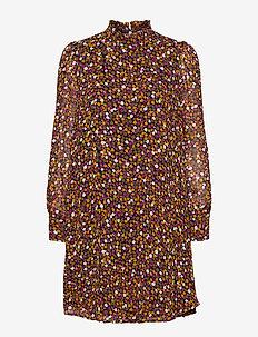 Gryffin print dress - sommerkjoler - fall flower