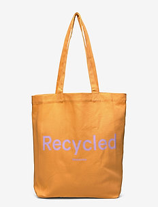 Gace recycled tote - tote bags - apricot cream