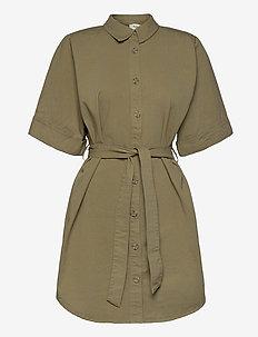 Ivette dress - sommerkjoler - light khaki