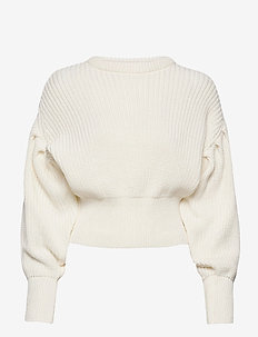 Hanni o-neck - truien - off white