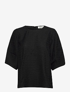 Hazell top - blouses met korte mouwen - black