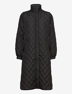 Heba jacket - dynefrakke - black