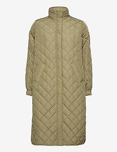 Heba jacket - padded coats - light khaki