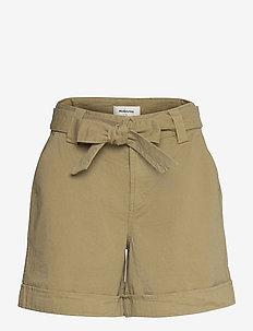 Ivette shorts - paper bag shorts - light khaki