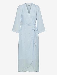 Isadora long print dress - sommerkjoler - daisy