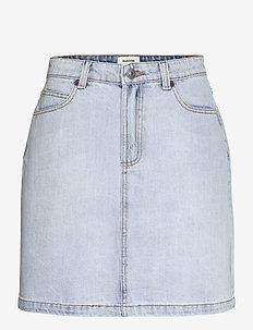 Ilias vintage blue skirt - jeanskjolar - vintage blue