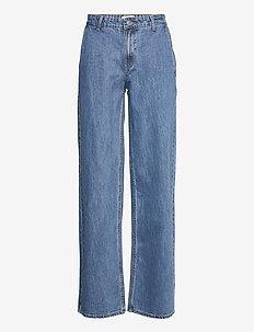 Harriet medium blue jeans - straight jeans - medium blue