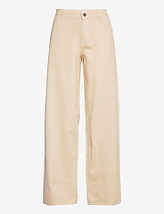 Harriet jeans - wide leg jeans - cream milk