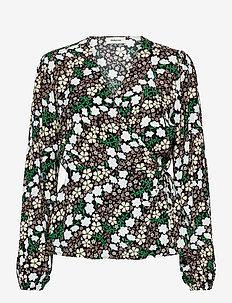 Harlow print top - blouses met lange mouwen - blossom field